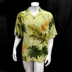 The North Face Men's Light Green Hawaiian Shirt